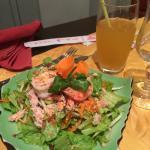 salade crabe crevette