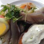 """Soused """"Nicola May"""" Herrings with Dill Mayonnaise & soused Vegetables"""