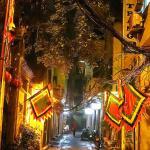 the street at night