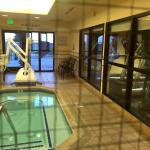 heated accessible spa