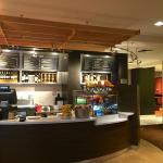 Starbucks coffee is served