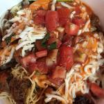 Pasta bowl with Pork--tasty!