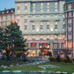 exterieur hôtel hôtel Mercure Lourdes