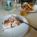 Fedora dessert - it's lighter than it looks!
