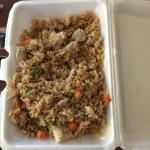 Chicken fried rice was awesome.