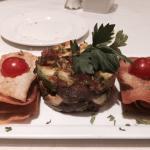 The Avocado and Ahi Tuna Tartare - SO GOOD!!