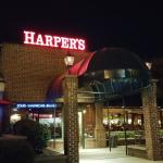 Entry to Harper's Restaurant