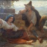 Lorenz Frølich: Italian PeasantsLorenz Frølich: Italian Peasants