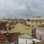 Vue des toits de Malaga de la chambre 511