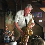 Live sax music