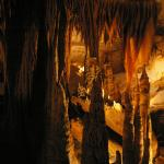 Some of the formations inside Endless Caverns