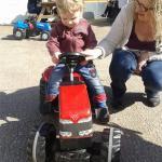 fun on the tractor