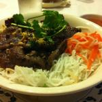 Minh's Vietnamese Restaurant Beef on Vermicelli