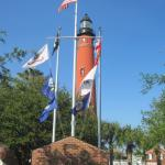 Ponce De Leon Inlet Lighthouse, about 14 miles south of The Villa