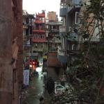 Zed Street is a quieter street off the main drag of Thamel liveliness