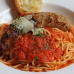 Spaghetti and Salsicce