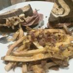 Reuben Sandwich and Fresh-Cut Fries