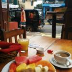 Complimentary Breakfast and Coffee