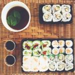 Petite soirée sushi, en livraison aussi, devant un bon film !! Au top !