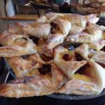 Handmade pastries....yum yum!