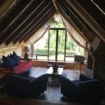 Sala con vista a el Lago de Atitlan
