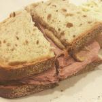 liverwurst sandwich -- old school!
