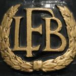 LFB helmet crest.