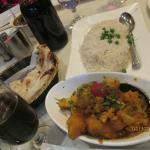 Aloo Gobi and Rice