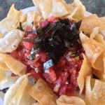 Poke with chips