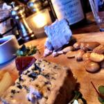 The cheese plate appetizer