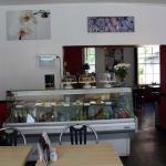 Inside The Garden Cafe