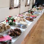 A few photos of a quality buffet provided for our family gathering by Ambergate Chip Shop. Great