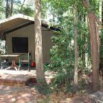 Forest Walk, Family tent, en suite