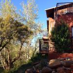 Rooms facing Oak Creek