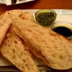 Various bread dips