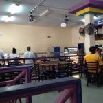 Creole cafe cafeteria line