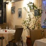 Hotel La Chapouliere : le bistrot de Léandre / La Table de Manon