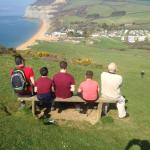 Looking at the wonderful view of Seatown
