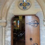 Doors to Cathedral of the Most Holy Trinity Church
