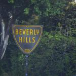 The iconic Beverly Hills sign.