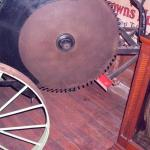 Steam-powered circular saw