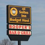 Business sign (NO Booper's Bar & Grill)