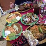 Steak Fajitas + Chicken Fajitas + Nachos