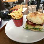 Scnitz burger off lunch menu