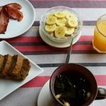 Great breakfast. Amazing homemade banana bread