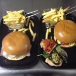 Italian & Vegetarian burger