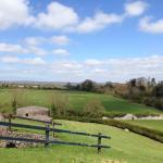 Around the monument - typical Irish countryside