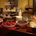 Breakfast (well, part of it) at Hotel Kapodistrias