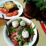 mousaka & greek salade