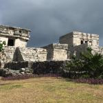 Руины майянского города Тулума